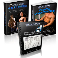 Visual Impact Muscle Building Books